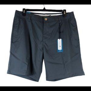 Caribbean Joe gray carbon shorts  size 36 NWT